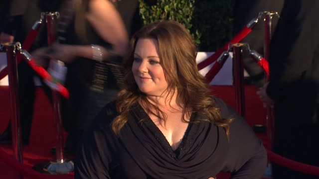 Melissa McCarthy at 18th Annual Screen Actors Guild Awards Arrivals on 1/29/2012 in Los Angeles CA