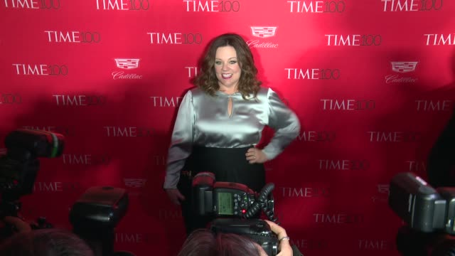 Melissa McCarthy at 2016 Time 100 Gala Time's Most Influential People In The World Red Carpet at Jazz at Lincoln Center on April 26 2016 in New York...