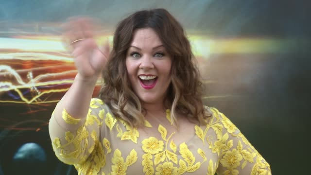 """melissa mccarthy, ben falcone at premiere of sony pictures' """"ghostbusters"""" in los angeles, ca 7/9/16 - ben falcone stock videos & royalty-free footage"""