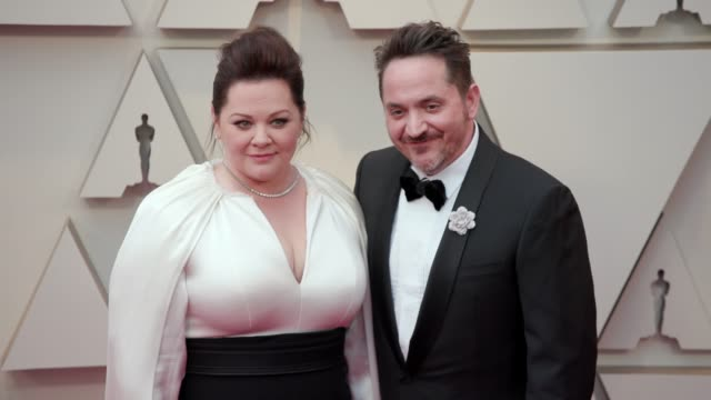 melissa mccarthy, ben falcone at the 91st academy awards - arrivals at dolby theatre on february 24, 2019 in hollywood, california. - ben falcone stock videos & royalty-free footage