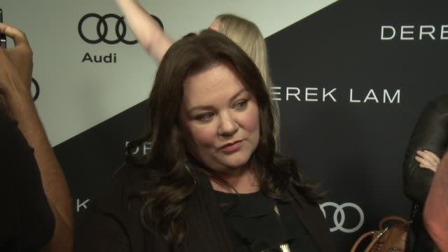 Melissa McCarthy on being at the event her nomination how she's preparing for the big day what it's like getting ready for the red carpet what she...