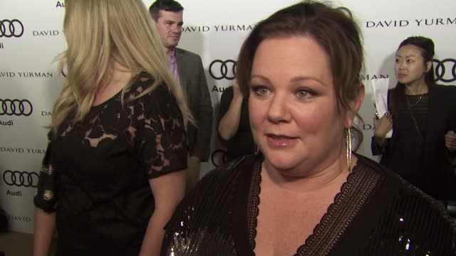 Melissa McCarthy on how she found out about her Emmy nomination why she wanted to kickoff Emmy week with Audi what she loves about the new Audi A8...