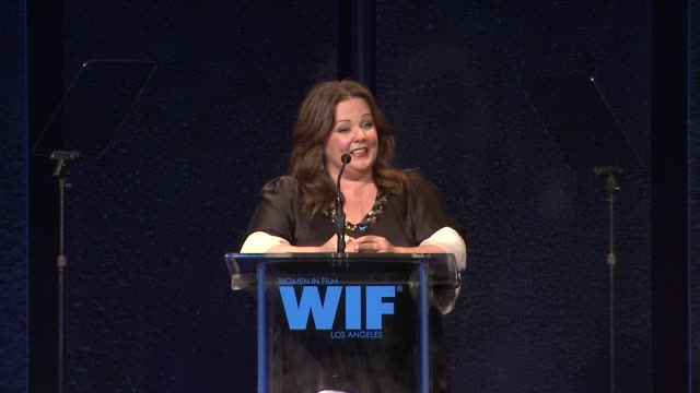 Melissa McCarthy on the event at the 2011 Women In Film Crystal Lucy Awards Sponsored By Pandora And Max Mara at Beverly Hills CA