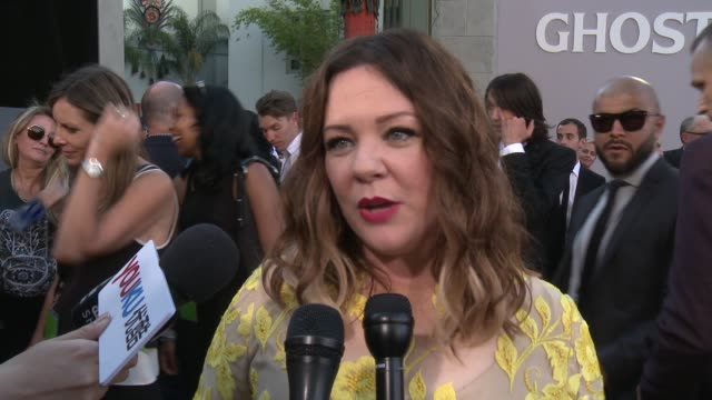 INTERVIEW Melissa McCarthy on what it means to have her movie premiere here at the iconic TCL Chinese Theatre at Premiere Of Sony Pictures'...