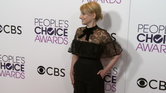 Melissa Rauch at the People's Choice Awards 2017 at Microsoft Theater on January 18 2017 in Los Angeles California