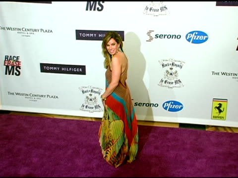 melissa rivers at the 12th annual race to erase themed rock and royalty to erase on april 22, 2005. - レーストゥイレースms点の映像素材/bロール