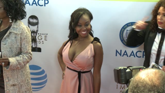 Melissa Strong at 48th NAACP Image Awards at Pasadena Civic Auditorium on February 11 2017 in Pasadena California