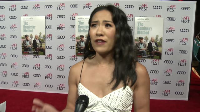 INTERVIEW Melissa Tang at A Netflix Original Series The Kominsky Method Los Angeles Premiere At AFI Fest at TCL Chinese Theatre on November 10 2018...