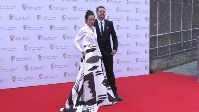 melissanthi mahut jonathan dumont on april 04 2019 in london united kingdom - british academy television awards stock videos & royalty-free footage