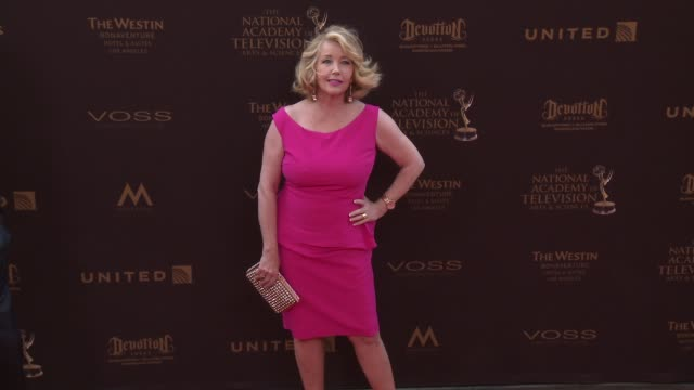 Melody Thomas Scott at the 43rd Annual Daytime Creative Arts Emmy Awards at Westin Bonaventure Hotel on April 29 2016 in Los Angeles California