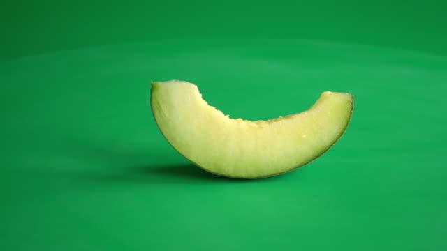 melon on green screen