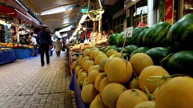 Melone Duschkabine auf street-Markt