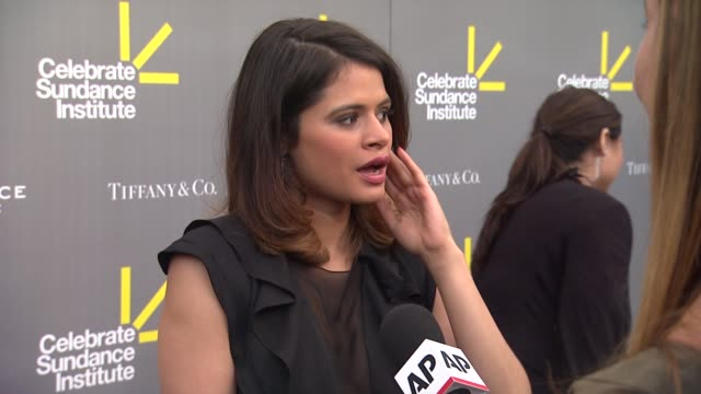 melonie diaz at 3rd annual 'celebrate sundance institute' los angeles benefit honoring roger ebert ryan coogler on 6/6/13 in los angeles ca - ryan coogler stock videos and b-roll footage