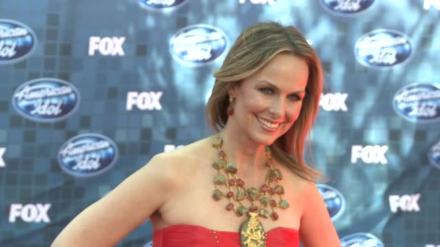 melora hardin at the fox's 'american idol 2011' finale - results show at los angeles ca. - melora hardin stock videos & royalty-free footage