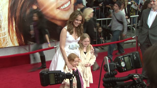 melora hardin at the 'hannah montana the movie' premiere at hollywood ca. - melora hardin stock videos & royalty-free footage