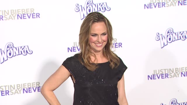 melora hardin at the 'justin bieber: never say never' premiere at los angeles ca. - melora hardin stock videos & royalty-free footage