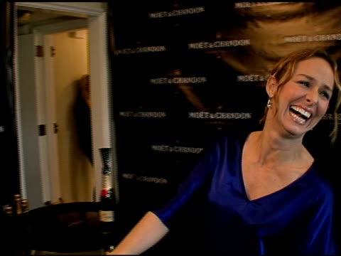 melora hardin at the luxury lounge in honor of 2008 screen actors guild sag awards at the four seasons hotel in los angeles, california on january... - melora hardin stock videos & royalty-free footage