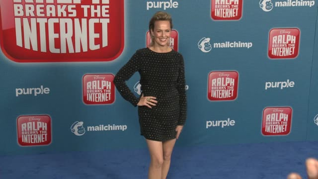 "melora hardin at the ""ralph breaks the internet"" world premiere at the el capitan theatre on november 05, 2018 in hollywood, california. - melora hardin stock videos & royalty-free footage"