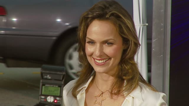 melora hardin at the 'the last mimzy' premiere at the mann village theatre in westwood, california on march 20, 2007. - melora hardin stock videos & royalty-free footage