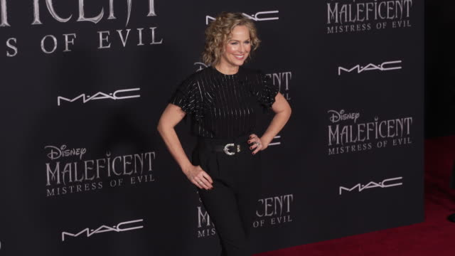 "melora hardin at the world premiere of disney's ""maleficent: mistress of evil"" on september 30, 2019 in hollywood, california. - melora hardin stock videos & royalty-free footage"