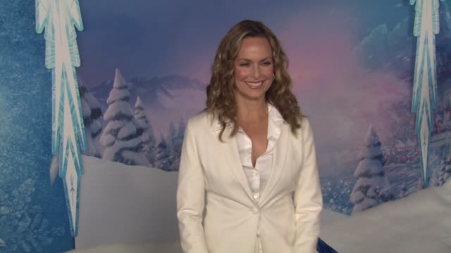 "melora hardin at walt disney animation studios'""frozen"" los angeles premiere in hollywood, ca, on . - melora hardin stock videos & royalty-free footage"