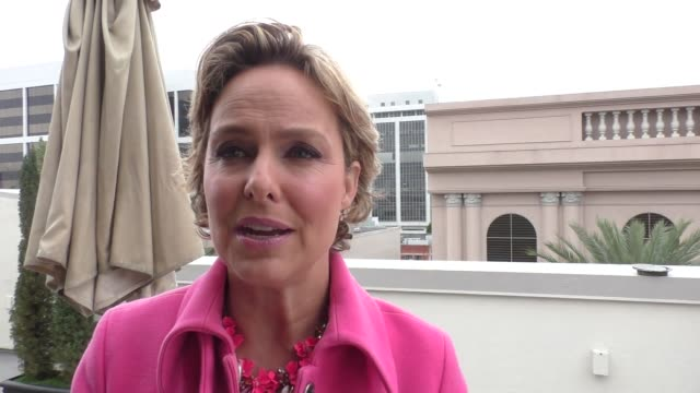 melora hardin on her upcoming projects at the dpa golden globes pre-awards luxury gifting lounge at luxe hotel on january 06, 2017 in beverly hills,... - melora hardin stock videos & royalty-free footage
