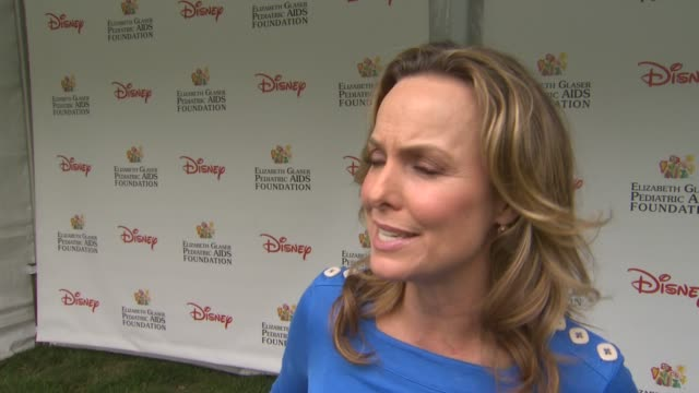 melora hardin on how she feels to be at the 22nd annual time for heroes celebrity picnic, why she wanted to come and support, why she comes to this... - melora hardin stock videos & royalty-free footage