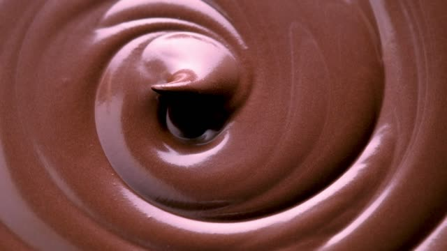 melt chocolate swirl - brown stock videos & royalty-free footage