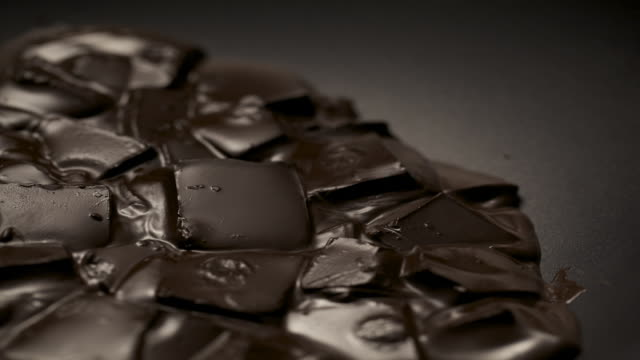 melting chocolate blocks - less than 10 seconds stock videos & royalty-free footage