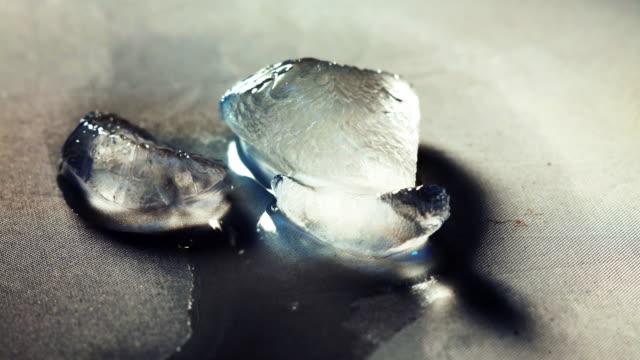 melting ice, time lapse