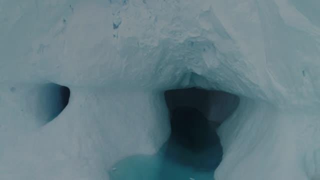 a melting iceberg at sunset - antarctica - antarctica melting stock videos & royalty-free footage