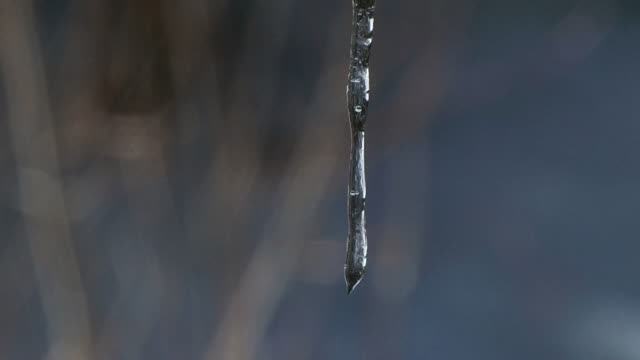 stockvideo's en b-roll-footage met melting icicle (hd) - infaden