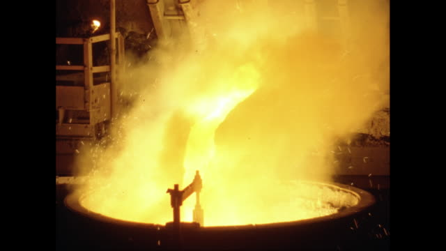 ms melting metal in foundry / united states - 1960 stock videos & royalty-free footage