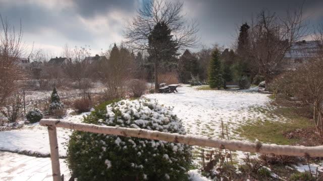 vídeos y material grabado en eventos de stock de dolly: fusión de la nieve. - primavera estación