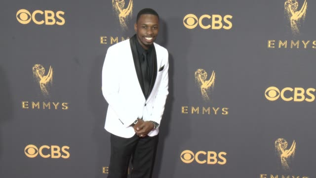 melvin jackson jr. at the 69th annual primetime emmy awards at microsoft theater on september 17, 2017 in los angeles, california. - annual primetime emmy awards stock-videos und b-roll-filmmaterial