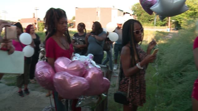 wgn members of chicago's transgender community held a vigil on the west side for one of their own a transgender woman known as tt who was found... - memorial event stock videos and b-roll footage