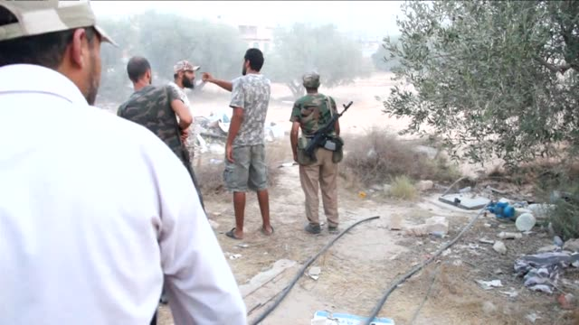 members of libyas shield brigade and some local fighters from the western region clashed, tuesday with gunmen accused of being loyal to the former... - kilometre stock videos & royalty-free footage