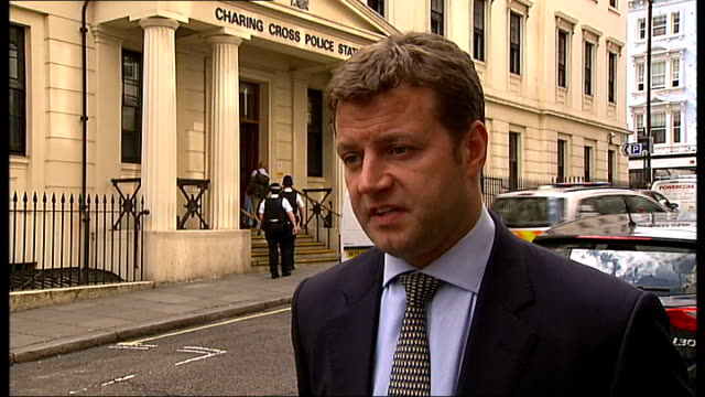 members of soho drugs gang jailed charing cross detective superintendent kevin southworth interview sot - charing cross stock videos and b-roll footage