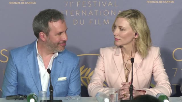 members of the cannes film festival jury including cate blanchett and kristen stewart talk politics feminism and film at the opening presser of the... - kampf der geschlechter konzept stock-videos und b-roll-filmmaterial