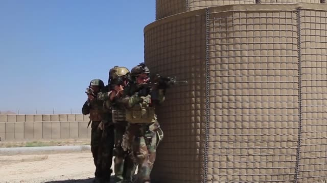 members of the female tactical platoon a femaleonly platoon attached to the elite ktah khas unit of the afghan special security forces displayed... - platoon stock videos and b-roll footage