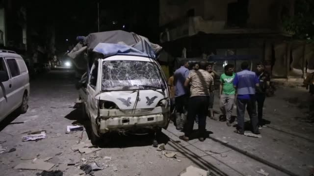 SYR: Russian air strikes kill 12 in Syria's Idlib: monitor