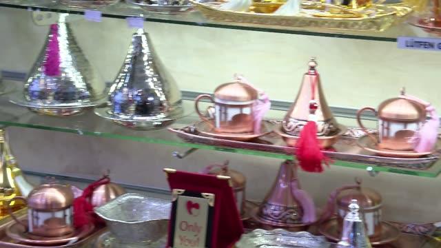 stockvideo's en b-roll-footage met memorabilia from istanbul - suikerpot