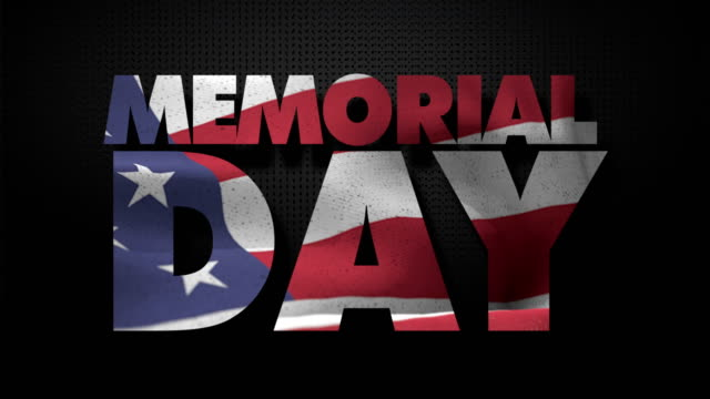 memorial day - retro poster stock videos & royalty-free footage