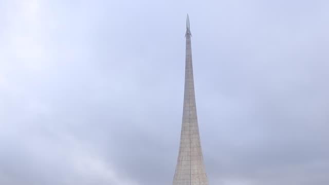 memorial museum of cosmonautics - 記念碑点の映像素材/bロール
