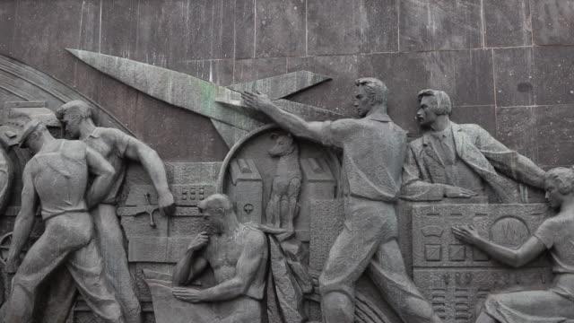 memorial museum of cosmonautics - russia video stock e b–roll