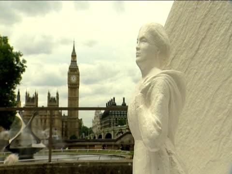 Memorial statue in honor of nurse Mary Seacole 18 June 2009