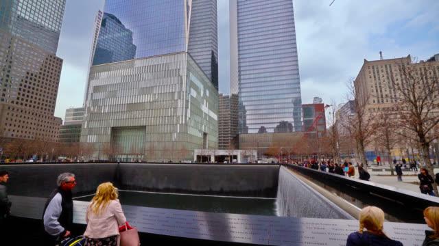 9/11 memorial. - september 11 2001 attacks stock videos & royalty-free footage