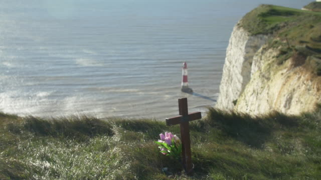 Memorials on Beachy Head