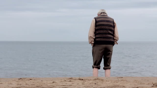 memory lane down by the sea - alzheimer's disease stock videos & royalty-free footage
