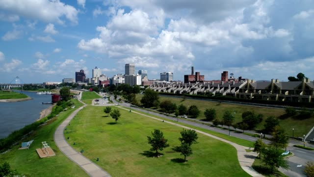memphis daytime skyline - memphis tennessee stock videos and b-roll footage